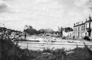 Prise de vue janvier 1944