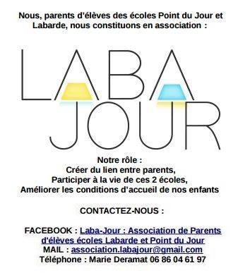 Association des parents d'élèves des écoles Point du Jour et Labarde
