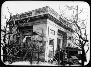 Le pavillon Richelieu en 1910